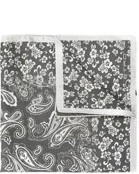 """Серый нагрудный платок с """"огурцами"""" от Etro"""
