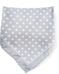 Серый нагрудный платок с принтом от fe-fe