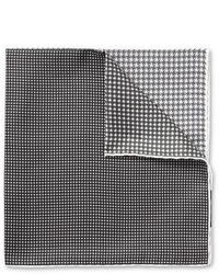 Серый нагрудный платок с принтом от Lanvin