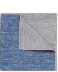 Серый нагрудный платок от Brunello Cucinelli