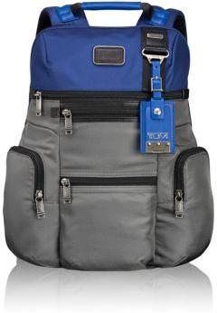 Мужской серый нейлоновый рюкзак от Tumi   Где купить и с чем носить 0a32e84fbd2