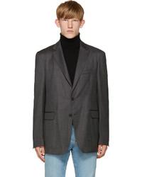 Мужской серый пиджак от Burberry