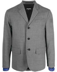 Мужской серый пиджак от DSQUARED2