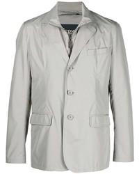Мужской серый пиджак от Herno