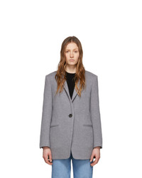 Женский серый пиджак от Isabel Marant