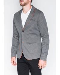 Мужской серый пиджак от OMBRE