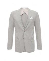 Мужской серый пиджак от Piazza Italia