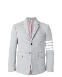 Мужской серый пиджак от Thom Browne