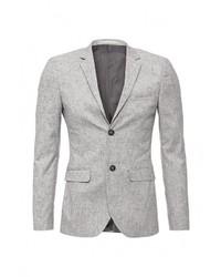 Мужской серый пиджак от Topman