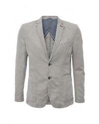Мужской серый пиджак от United Colors of Benetton