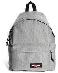 Серый рюкзак из плотной ткани
