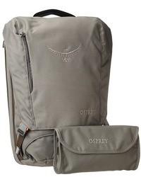 Серый рюкзак