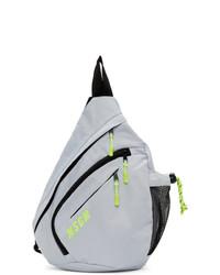 Мужской серый рюкзак от MSGM