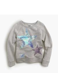Серый свитер со звездами