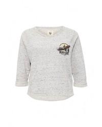 Женский серый свитер с круглым вырезом от Billabong