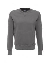 Мужской серый свитер с круглым вырезом от C.P. Company