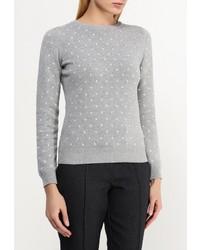 Женский серый свитер с круглым вырезом от Dorothy Perkins