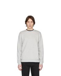 Мужской серый свитер с круглым вырезом от Norse Projects