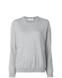 Женский серый свитер с круглым вырезом от Pringle Of Scotland
