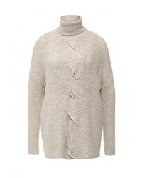 Женский серый свитер с круглым вырезом от Wallis