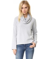 Женский серый свитер с хомутом от BB Dakota