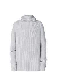 Мужской серый свитер с хомутом от Lost & Found Rooms