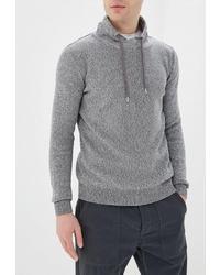 Мужской серый свитер с хомутом от Tom Tailor