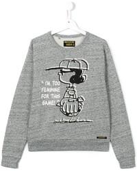Детский серый свитер для девочке от Finger In The Nose