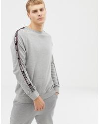 Мужской серый свитшот от Burton Menswear