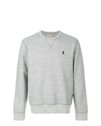 Мужской серый свитшот от Polo Ralph Lauren