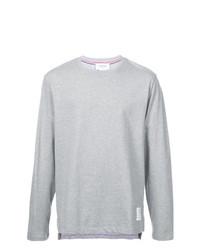 Мужской серый свитшот от Thom Browne