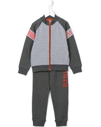 Детский серый спортивный костюм для мальчику от Armani Junior