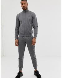 Мужской серый спортивный костюм от EA7
