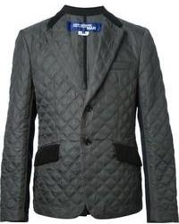 Мужской серый стеганый пиджак от Comme des Garcons