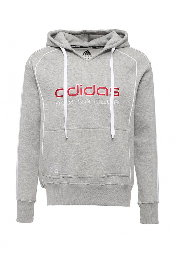 Мужской серый худи от adidas Combat