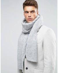 Мужской серый шарф от Asos