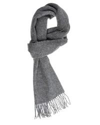 Мужской серый шарф от Glen Lossie