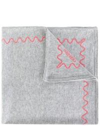 Детский серый шарф для девочке от Kenzo