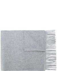 Мужской серый шарф от N.Peal