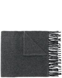 Мужской серый шарф от Paul Smith