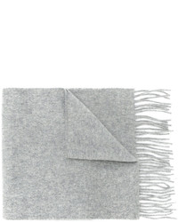 Мужской серый шарф от Pringle