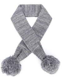 Детский серый шарф для девочке от Stella McCartney