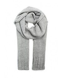 Мужской серый шарф от Topman