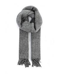 Мужской серый шарф от Venera