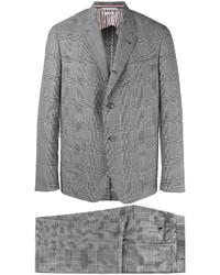 Серый шерстяной костюм от Thom Browne