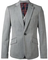 Мужской серый шерстяной пиджак от Vivienne Westwood