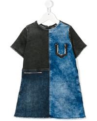 Детское синее джинсовое платье для девочке от Diesel