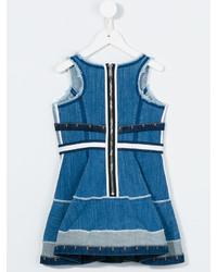 Детское синее джинсовое платье для девочке от DSQUARED2