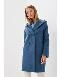 Женское синее пальто от Ovelli