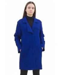 Женское синее пальто от Pavel Yerokin